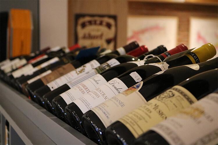 Wine bottles Grapevine Dalkey
