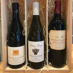 French Classics: 3 Bottles In Wooden Gift Box