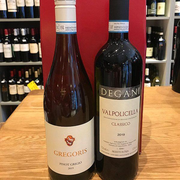 Italian Two Bottle Twin
