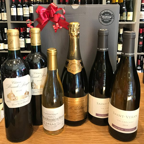 Grapevine Christmas Favourites Wine Box 6 Bottles